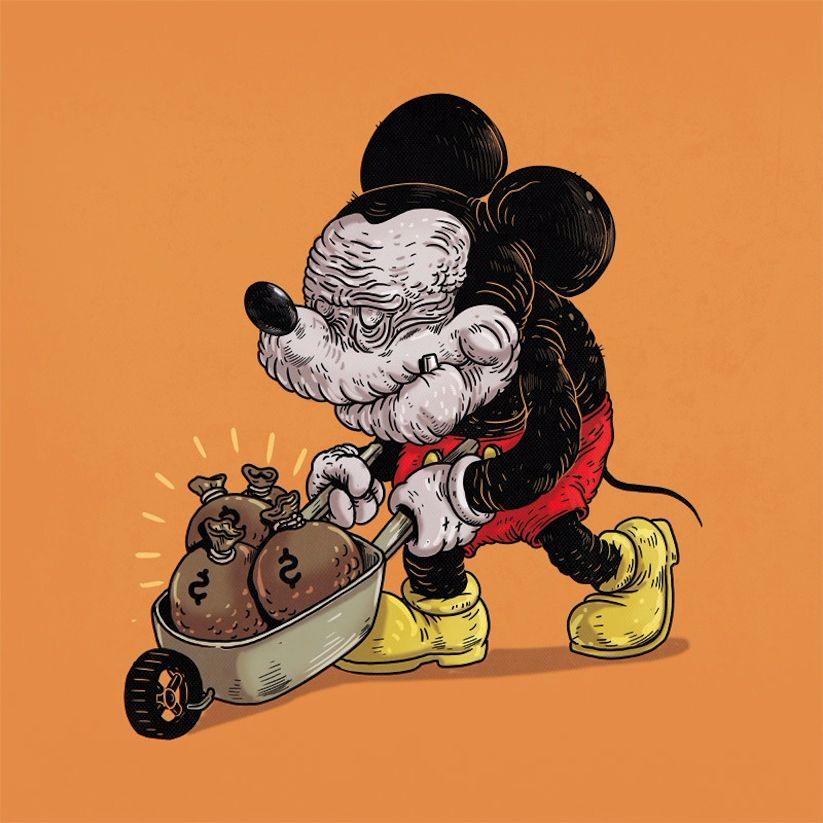 Yaşlı Mickey Mouse