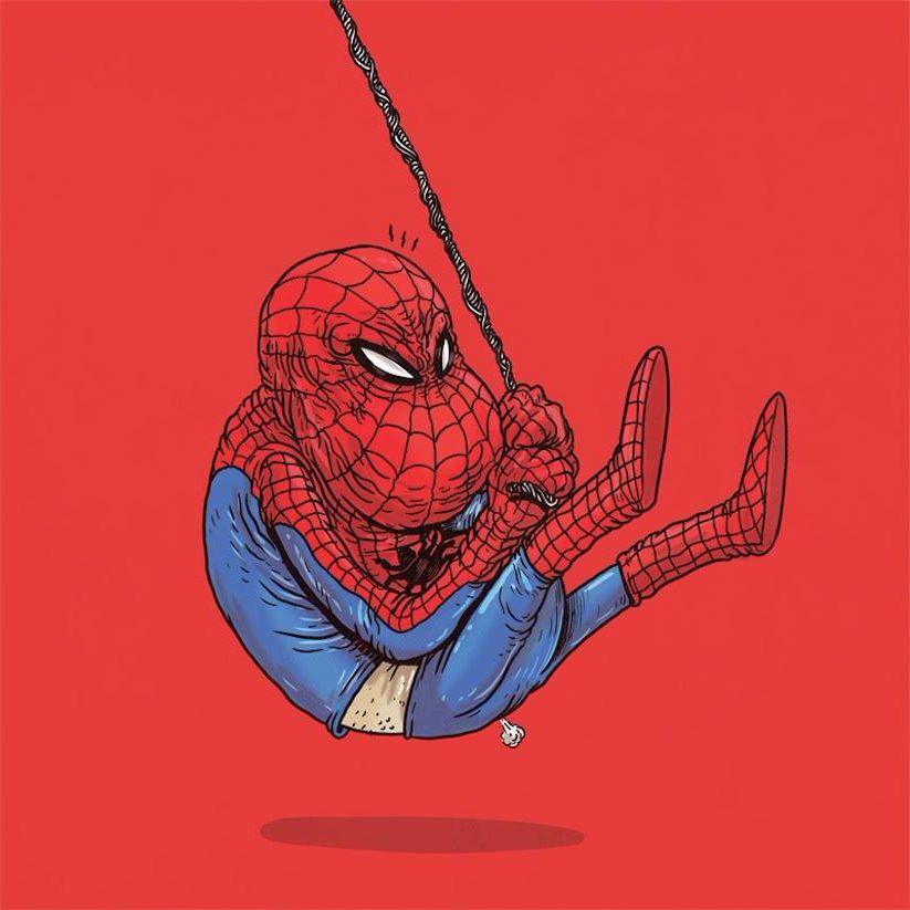 Yaşlı Spider Man