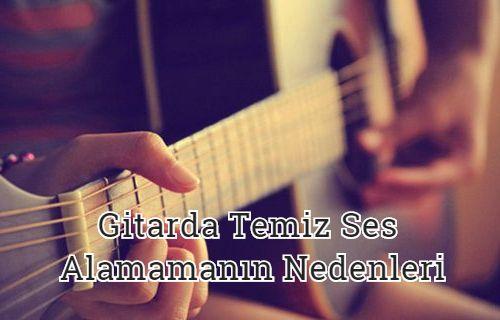 Gitar Tellerinde Cızırtı