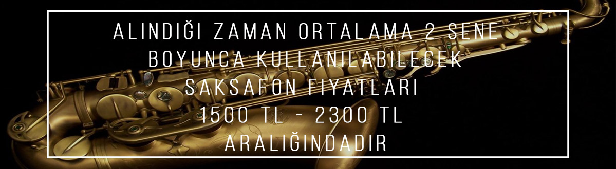saksafon fiyatları İzmir