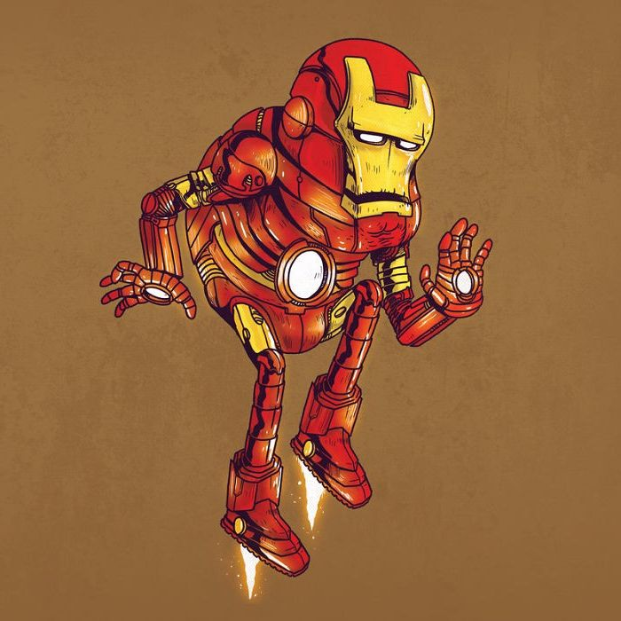 Yaşlı Iron Man