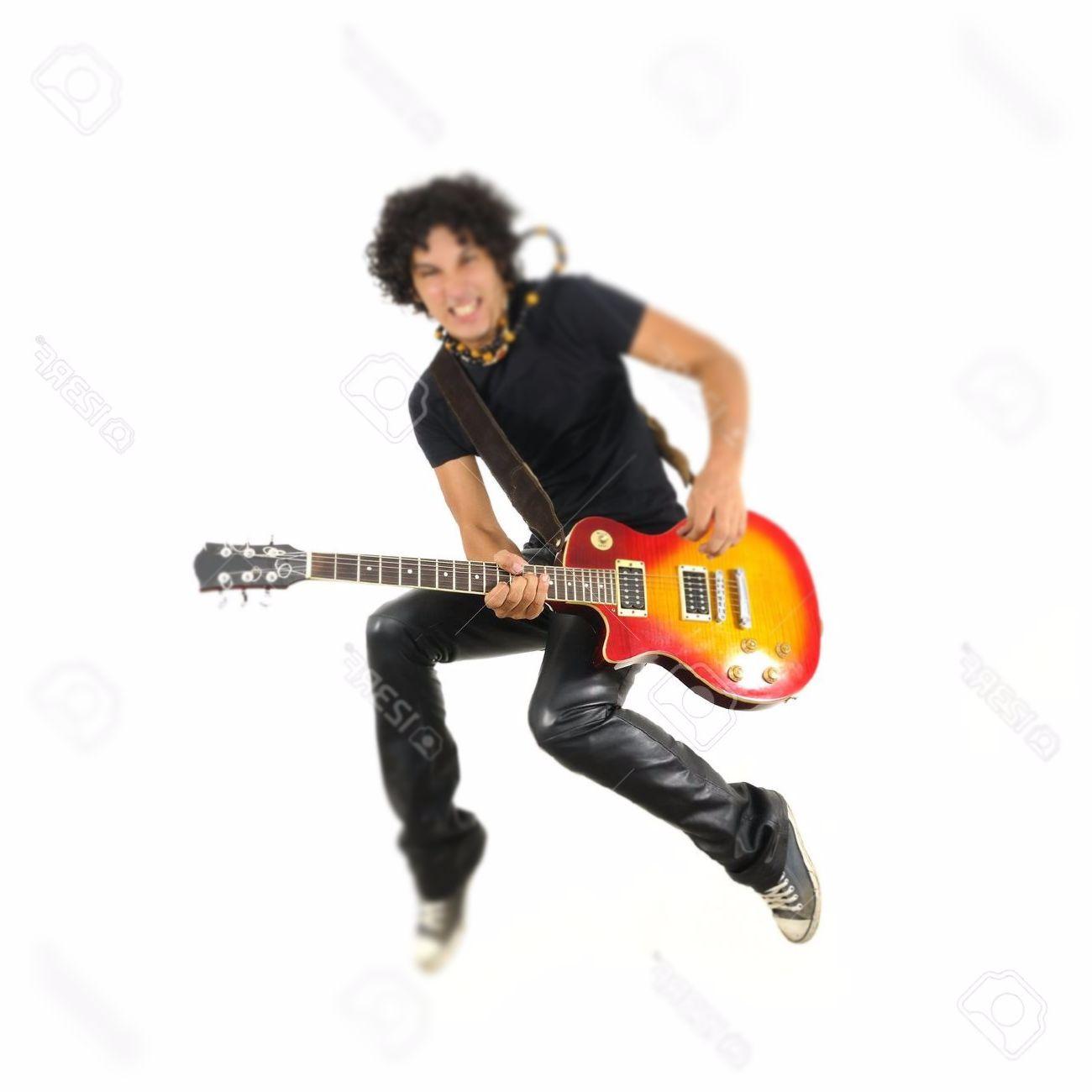 Gitar Çalan Çocuk