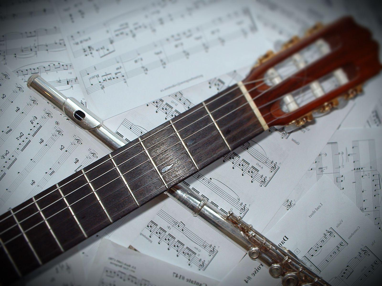 yan flüt ve gitar