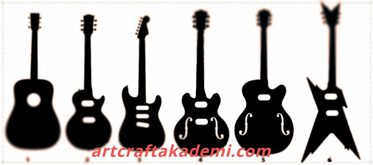 gitar şekilleri
