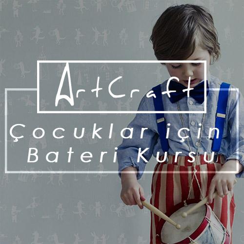 çocuklar için bateri kursu İzmir Gaziemir