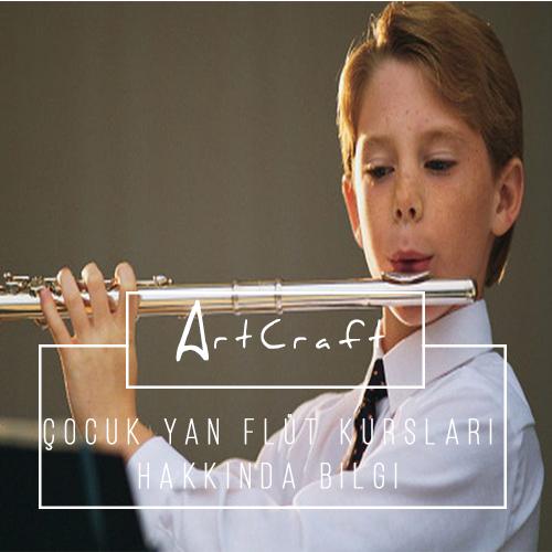 Çocuklar için yan flüt kursu İzmir Gaziemir