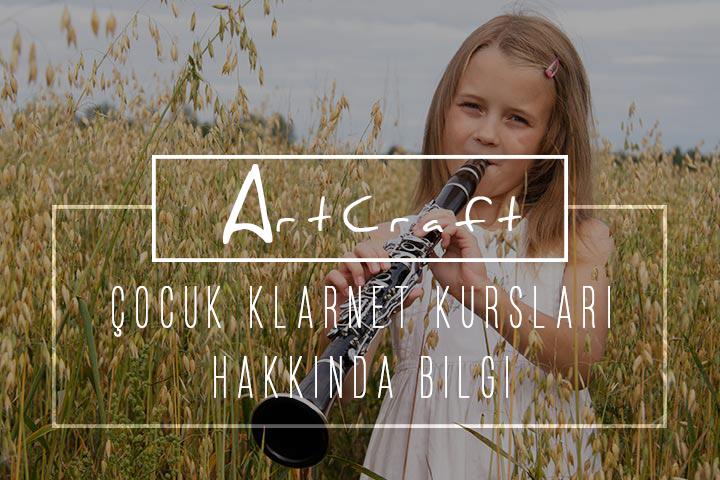 Çocuklar için klarnet kursu İzmir Gaziemir