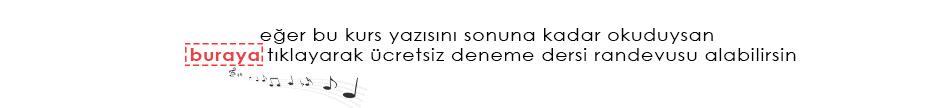 ÇELLO KURSU